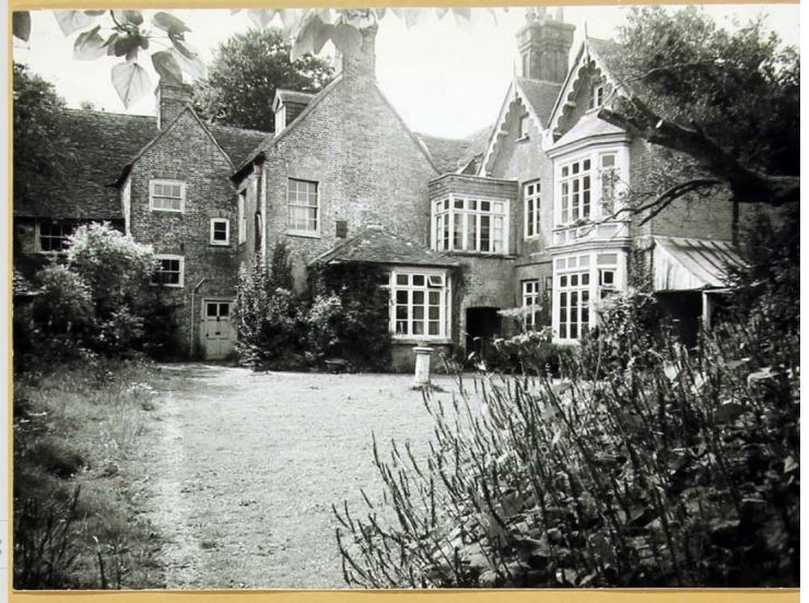 Wolfhall Exterior Back 5th August 1965
