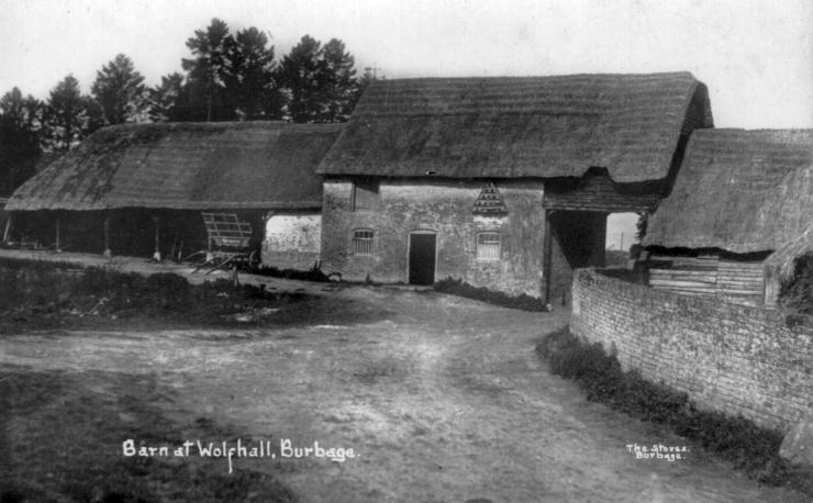 Wolfhall_Yard_Arch